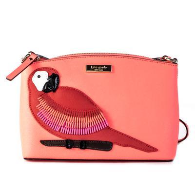Kate Spade CPink Parrot Crossbody Bag