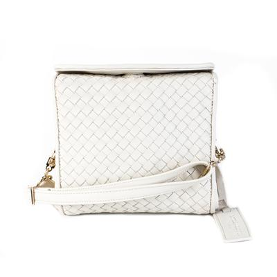 Bottega Giotti White Crossbody Bag