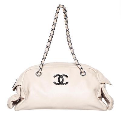 Chanel Ivory Handbag