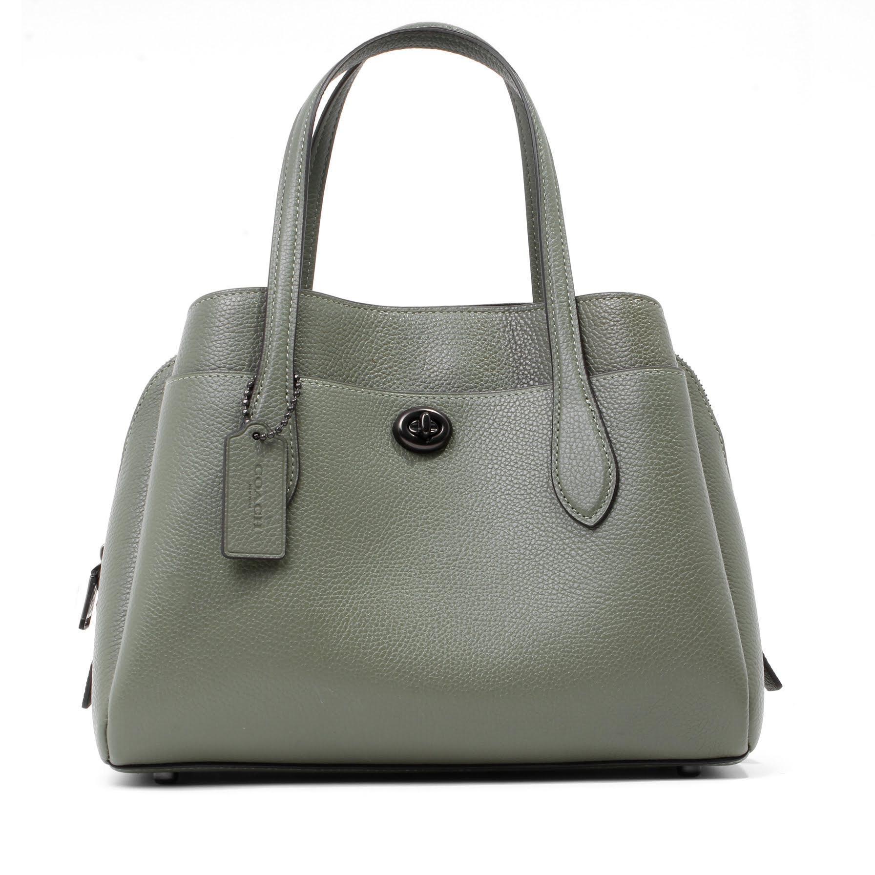 Coach Green Lora Carryall Bag