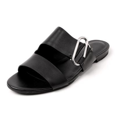 3.1 Phillip Lim Size 38.5 Leather Open Toe Sandals