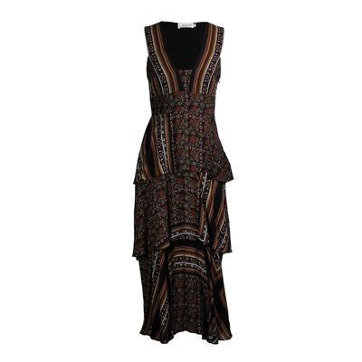 A.L.C. Size 4 Multicolored Print Dress