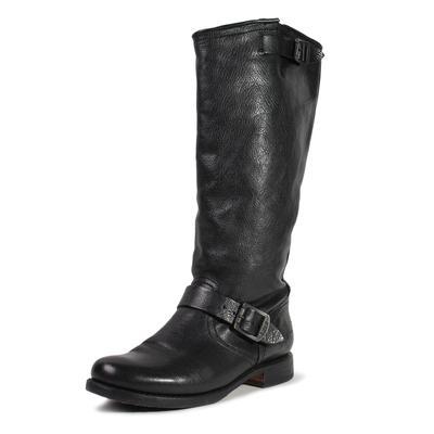 Frye Size 9.5 Black Moto Boots