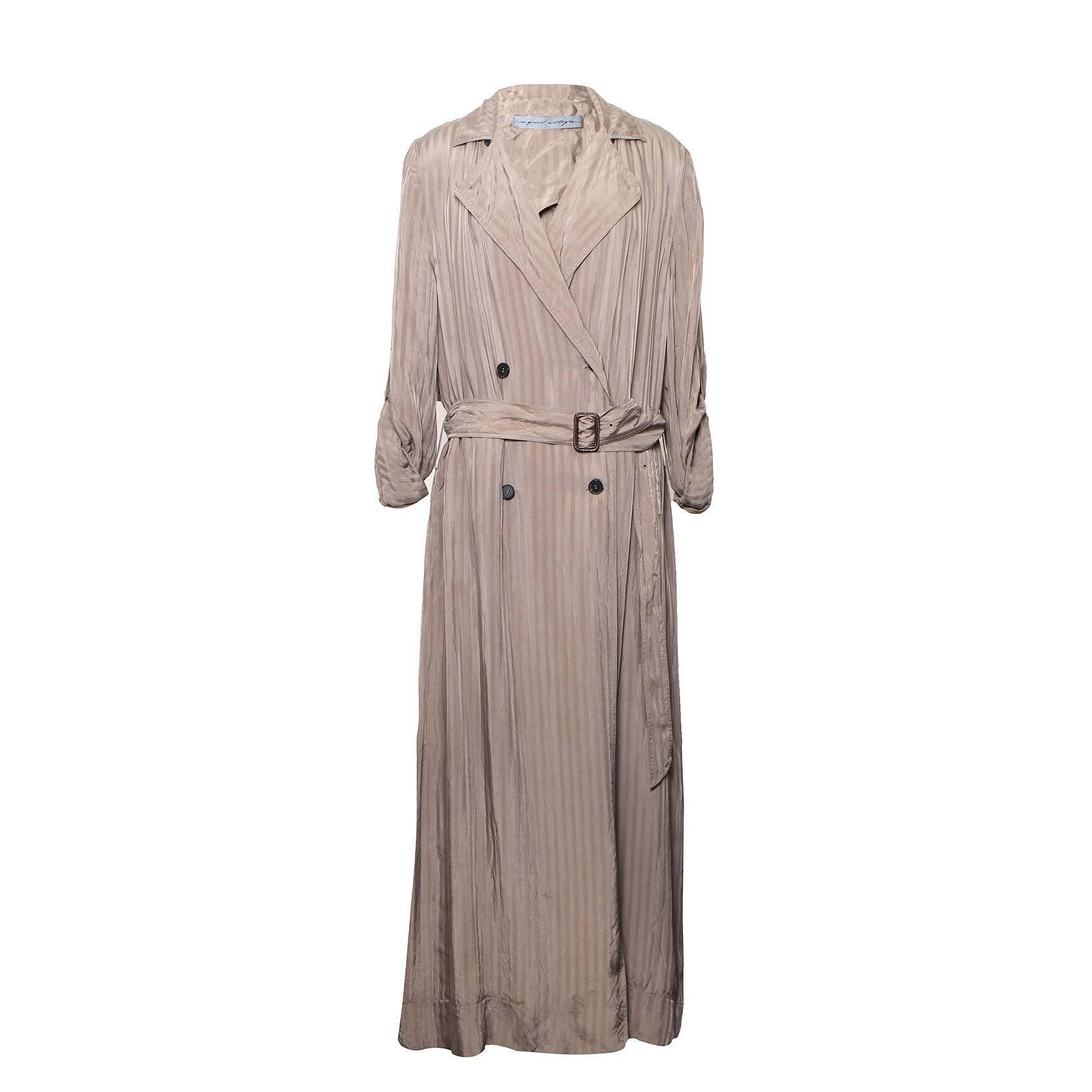 Raquel Allegra Size 2 Khaki Trench Dress
