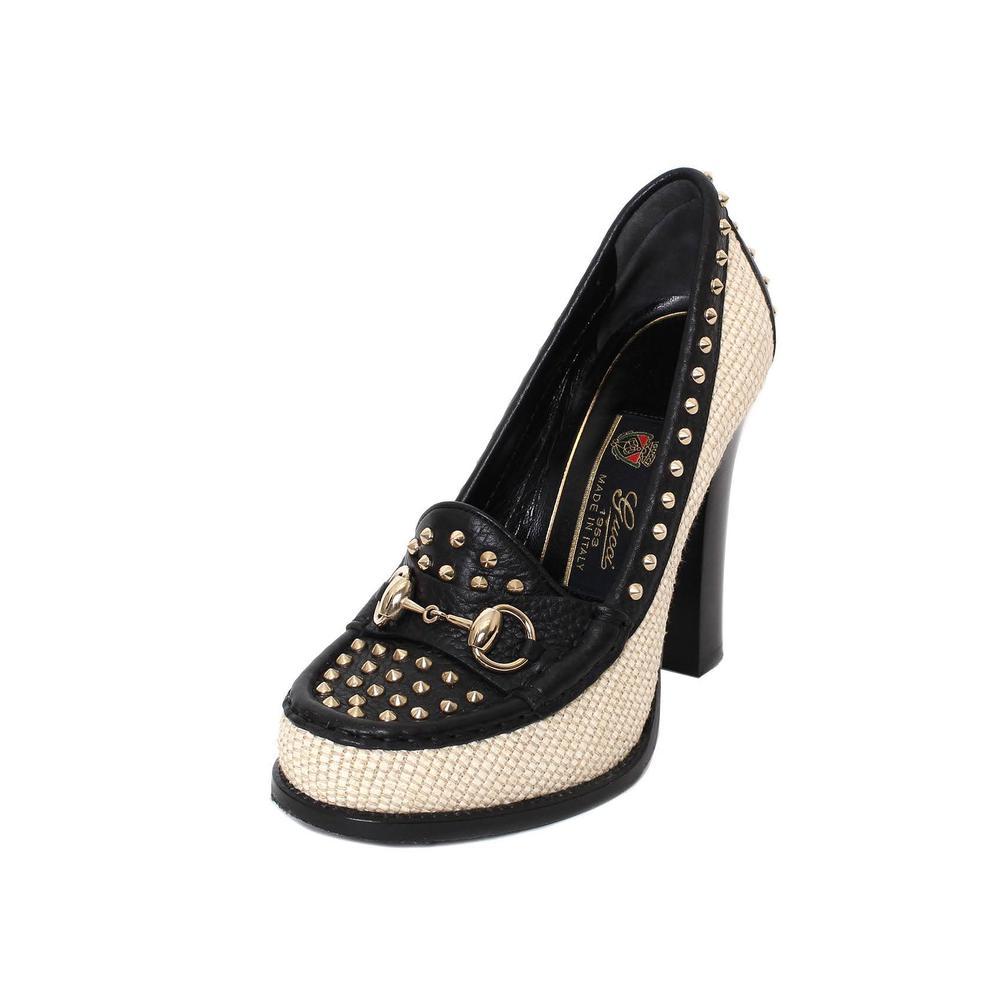 Gucci Size 36.5 Mystic Paglia Heels