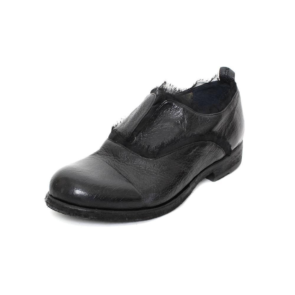 Ink Size 6.5 Black Leather Oxfords