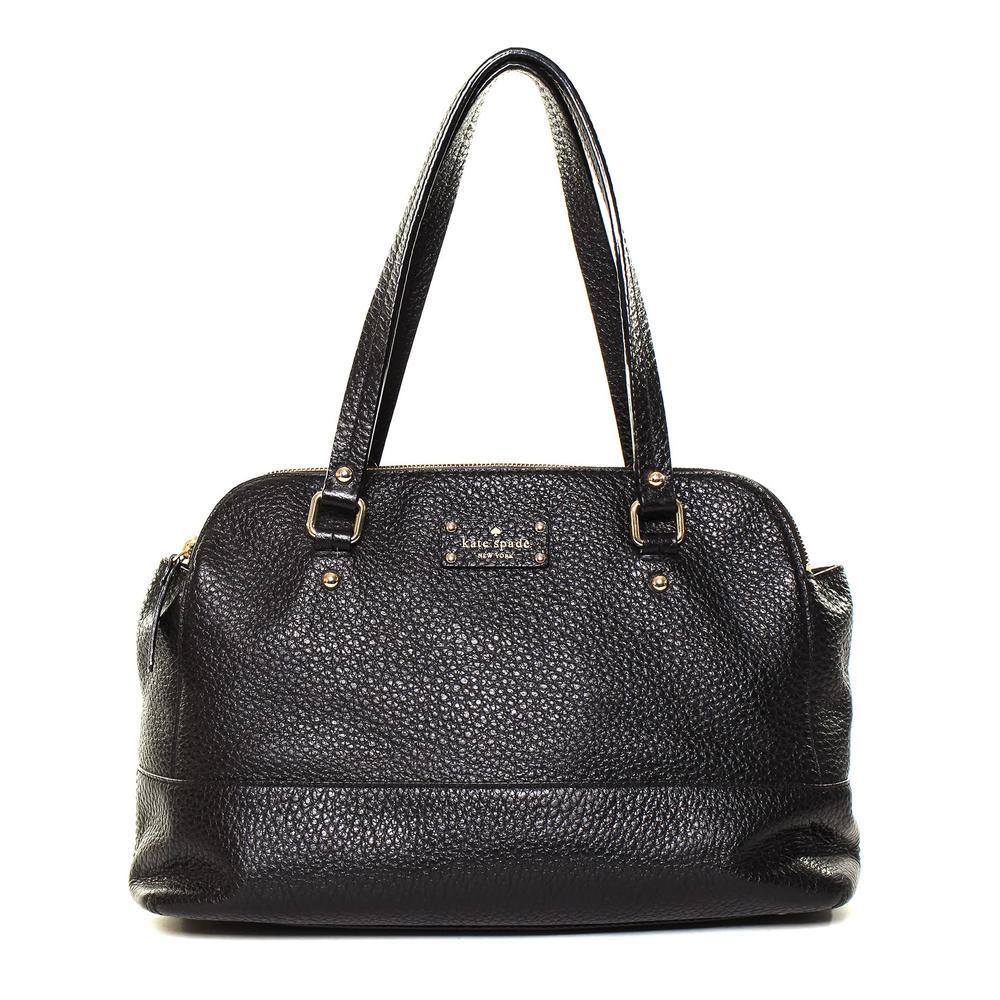 Kate Spade Black Pebbled Leather Handbag