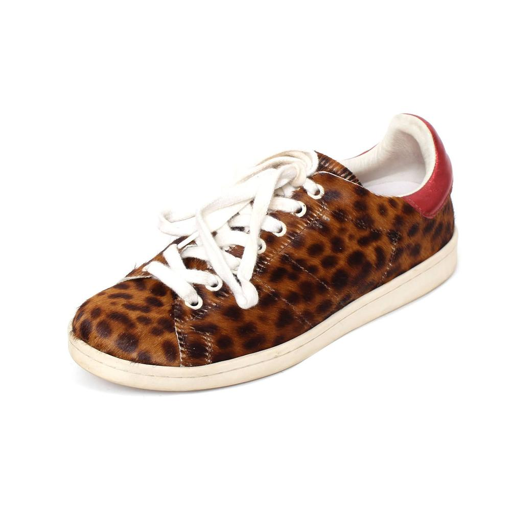 Isabel Marant Size 39 Bart Leopard Sneakers