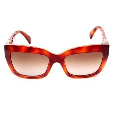 Valentino Tortoise Rockstud Sunglasses