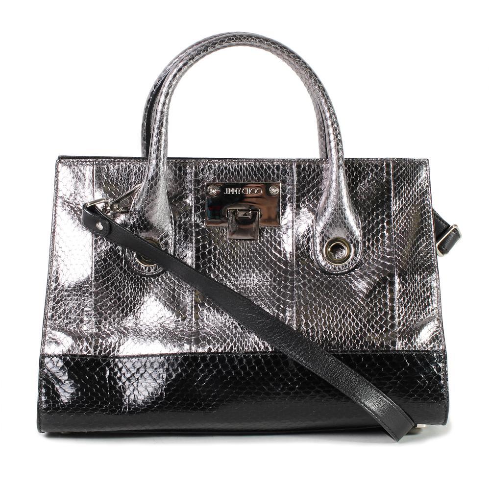 Jimmy Choo Two Toned Metallic Handbag