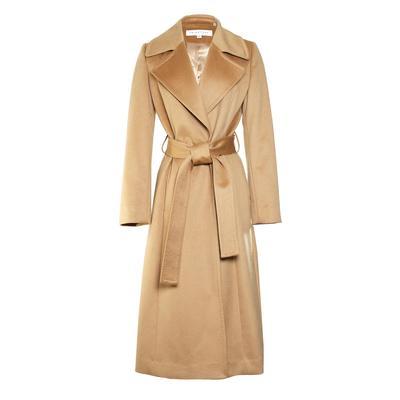 Trina Turk Size XS Tan Cashmere Coat