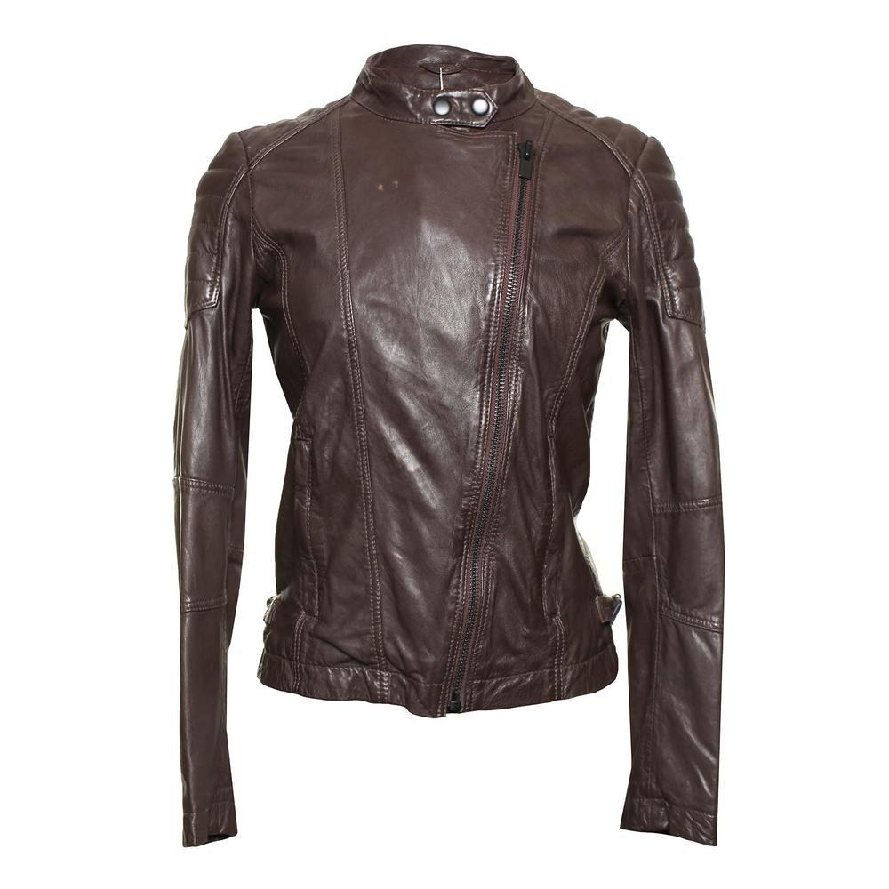 Comptoir Des Cotonniers Size Xs Leather Jacket