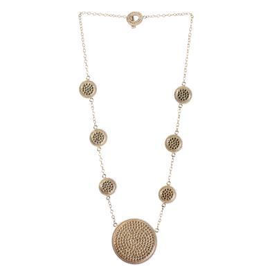 Ann Beck Medallion Necklace