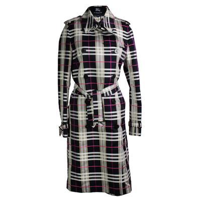 Burberry Size 10 Plaid Coat