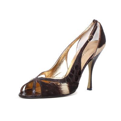 Dolce & Gabbana Size 8.5 Calf Hair Heel