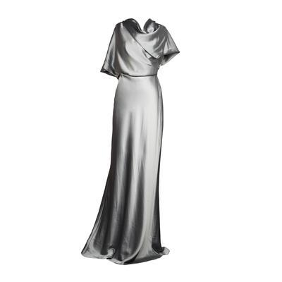 Amsale Size 10 Satin Dress