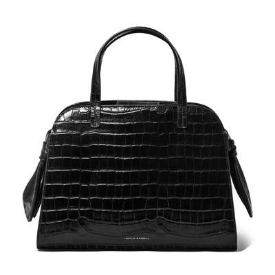 Loeffler Randall Clarice Crocodile Embossed Handbag