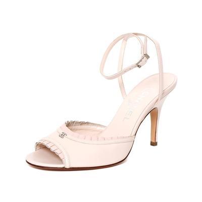 Chanel Size 38 Pink Heel