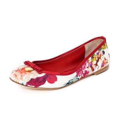 Dolce & Gabbana Size 38 Floral Flats