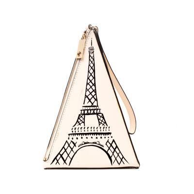 Kate Spade Eiffel Tower Wristlet Bag
