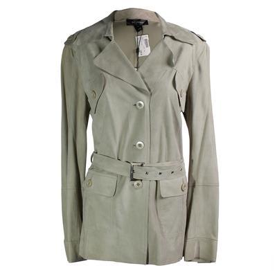 St. John Size 12 Suede Jacket