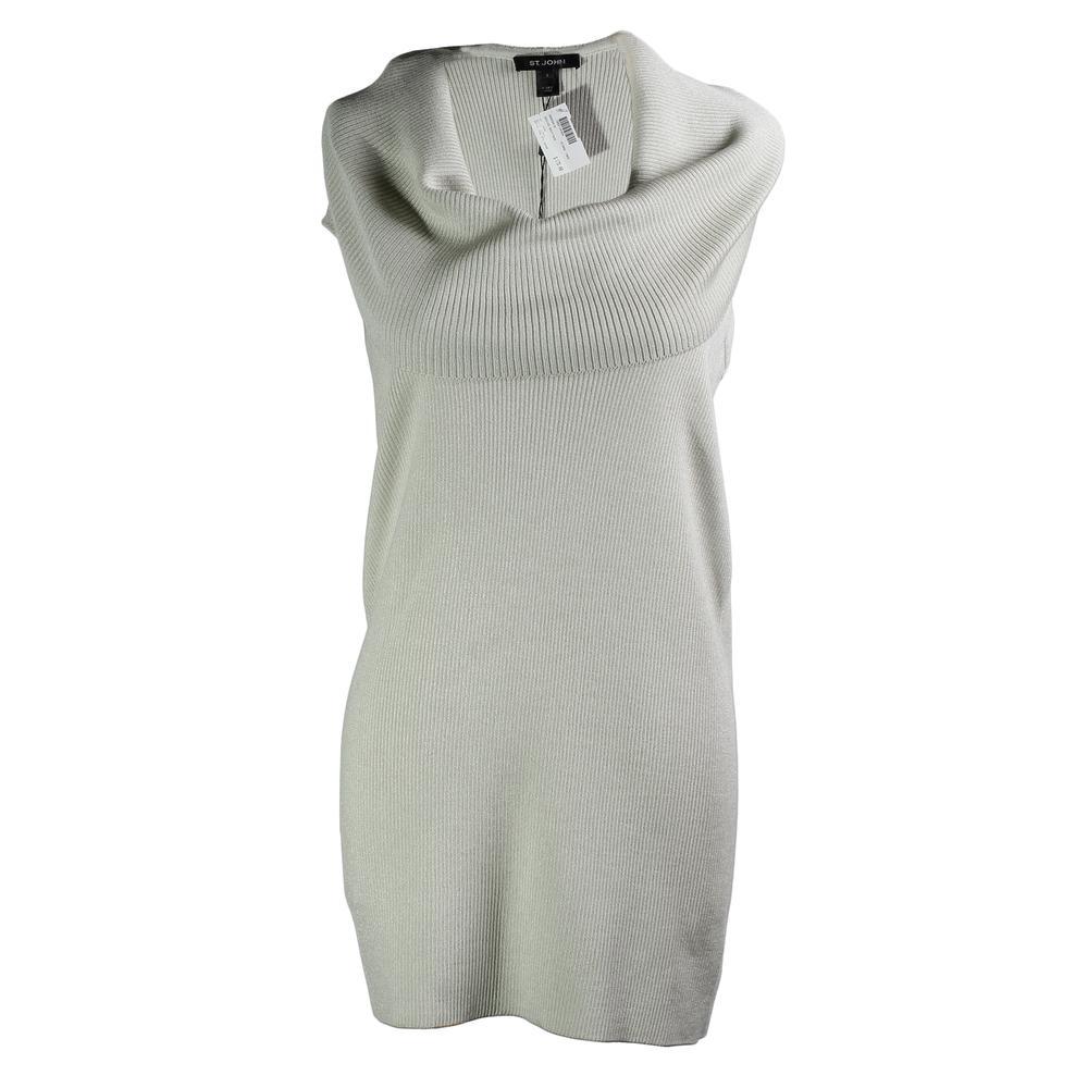 St.John Size Large Cowl Neck Dress