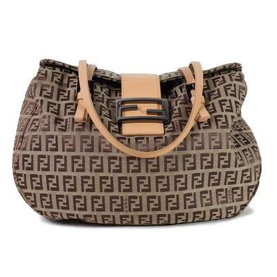 Fendi Zucca Baguette Handbag