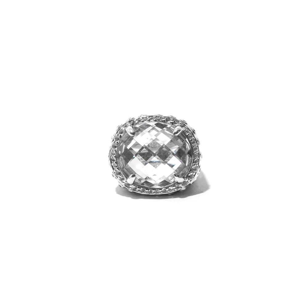 John Hardy Size 6.5 Batu Bamboo Collection Dome Ring