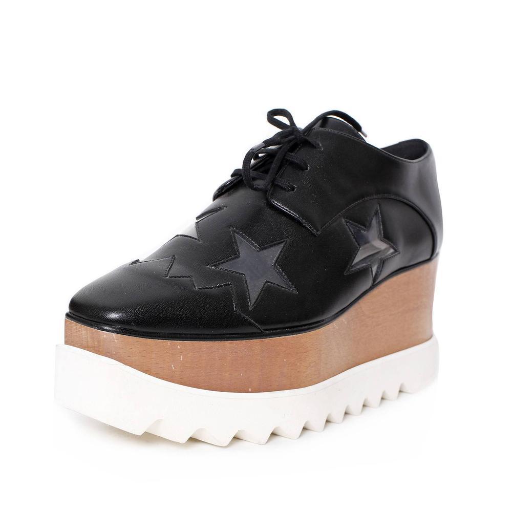 Stella Mccartney Size 9 Elyse Star Platform Sneakers