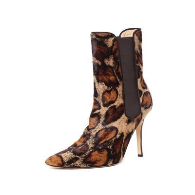 Manolo Blahnik Size 7 Giraffe Print Boots
