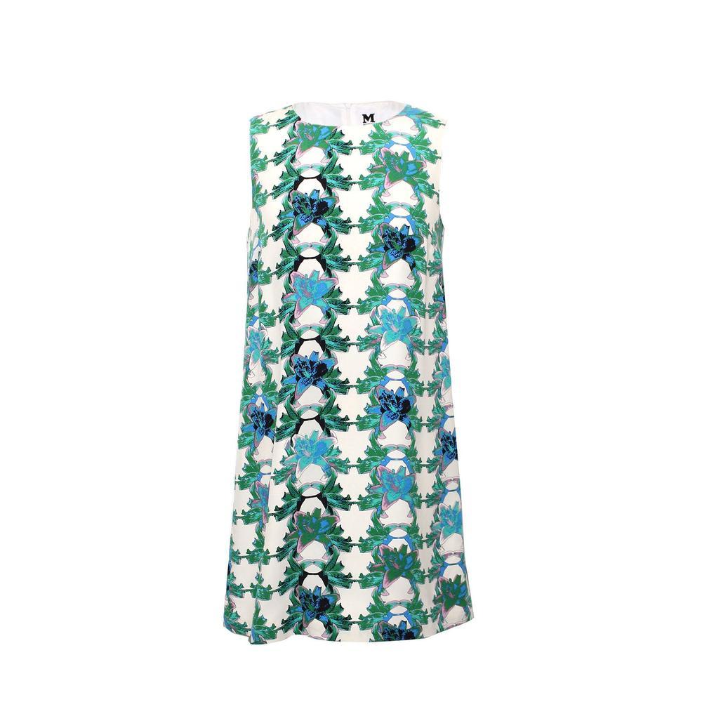 M Missoni Size Medium Floral Shift Dress