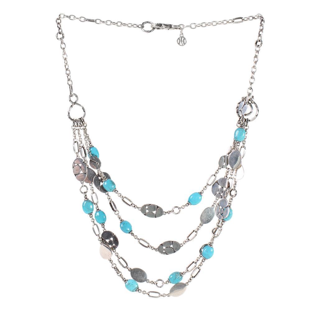 John Hardy Kali Menari Turquoise Necklace