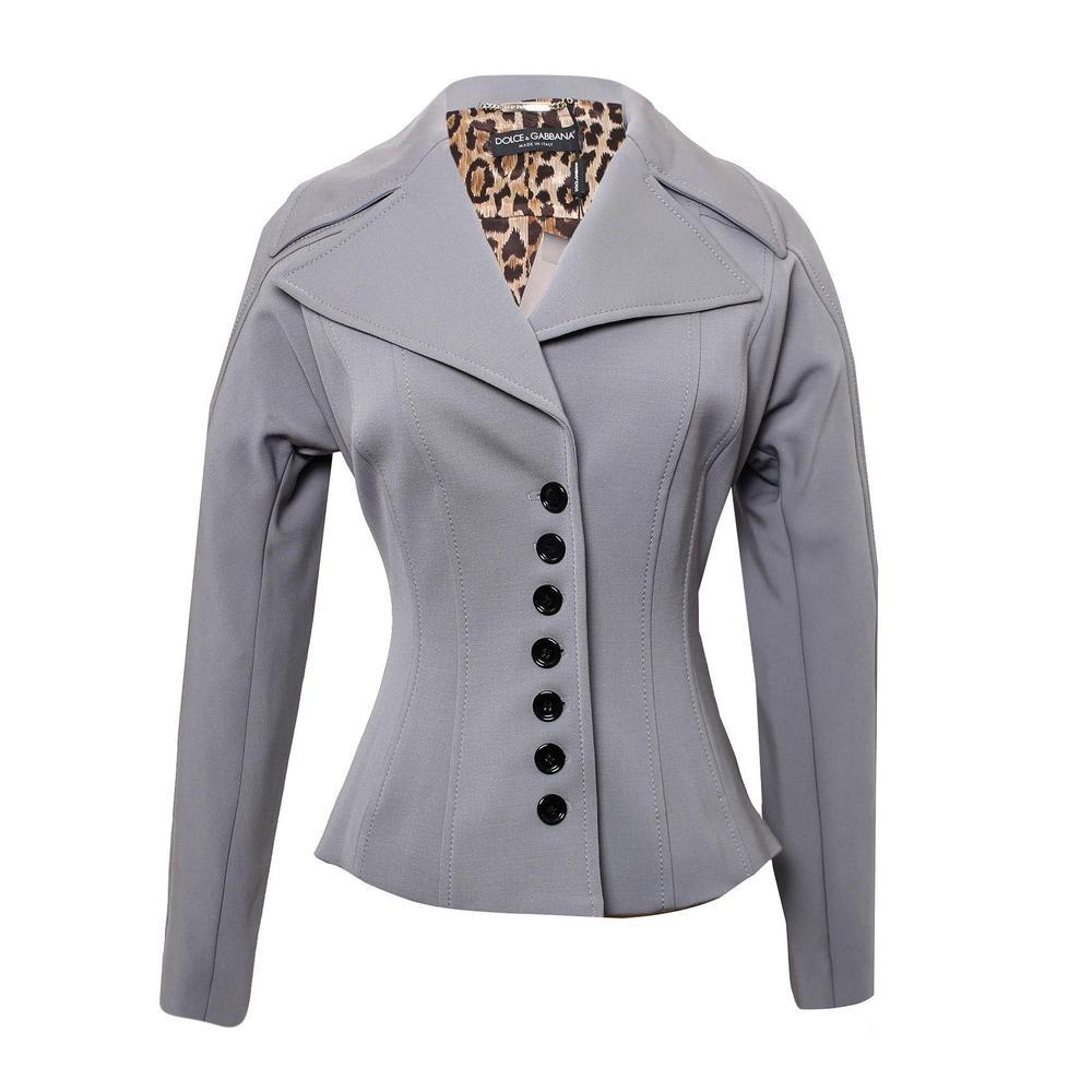 Dolce & Gabbana Size Medium Grey Jacket