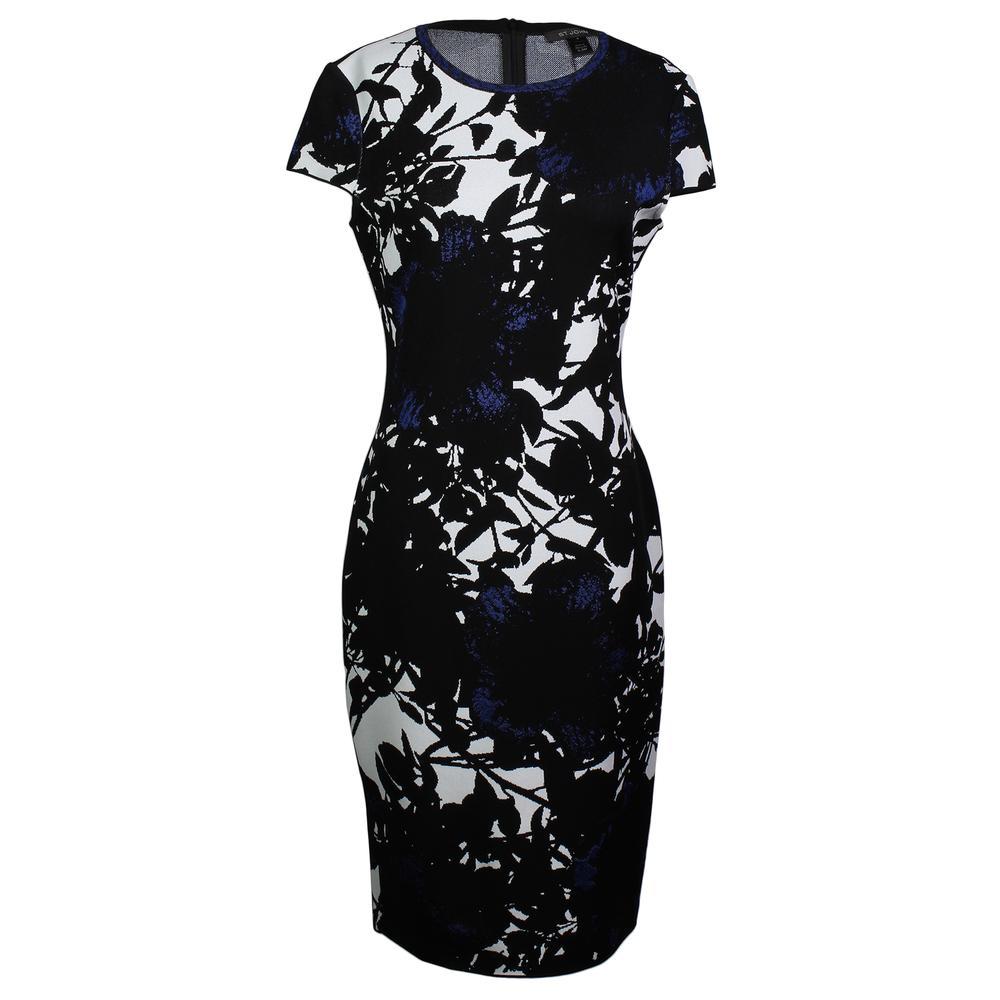 St.John Size 4 Caviar Dress