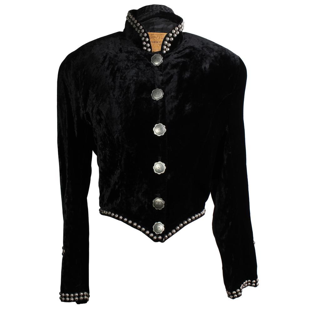 Double D Ranch Size Xs Velvet Studded Coat