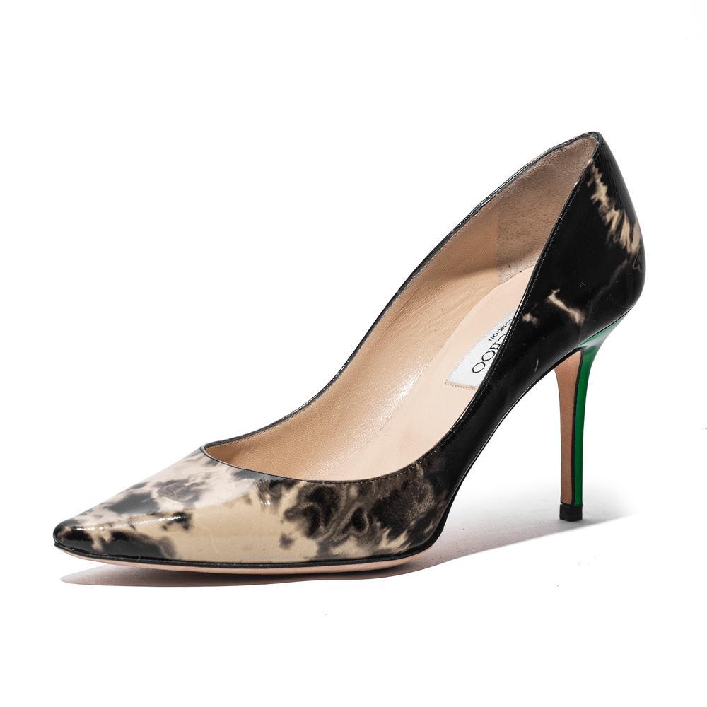 Jimmy Choo Size 8 Marble Romy High Heels