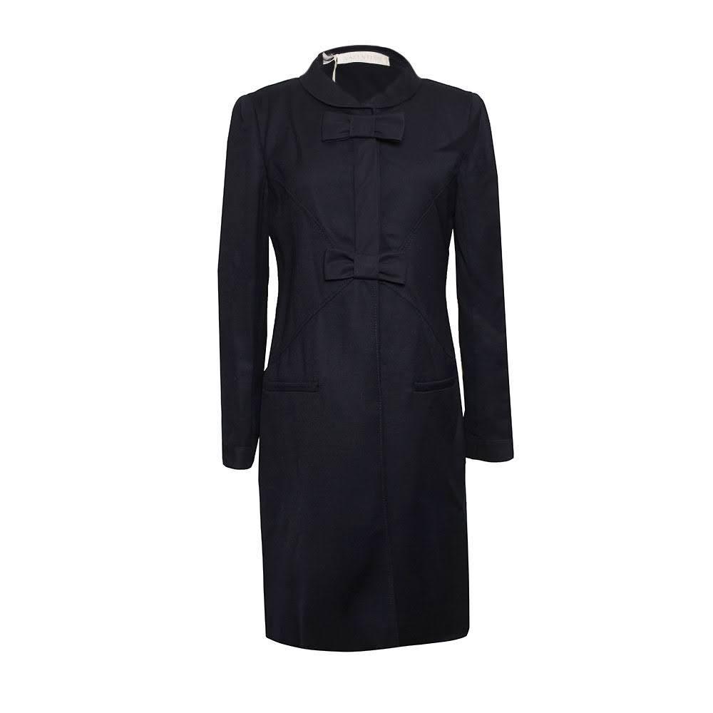 Valentino Size 6 Navy Coat