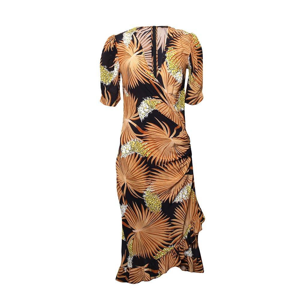 De La Vali Size 10 Silk Dress