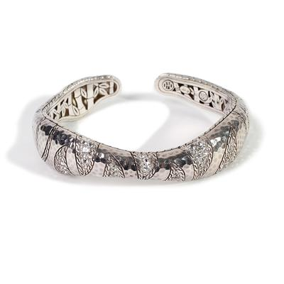 John Hardy Palu Macan White Topaz Bracelet