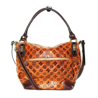 Marino Orlandi Brown Leather Handbag