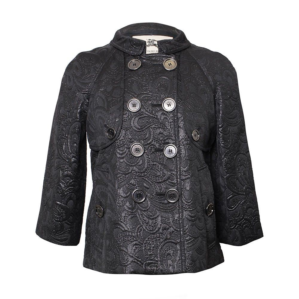 Burberry Size 4 Small Black Jacket