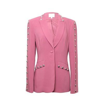 Cinq A Sept Size 4 Pink Blazer