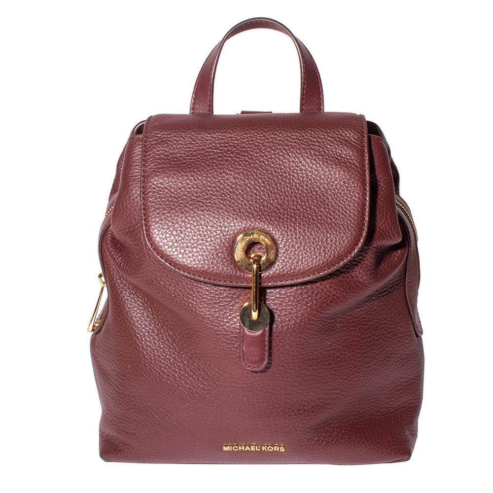 Michael Michael Kors Burgundy Backpack