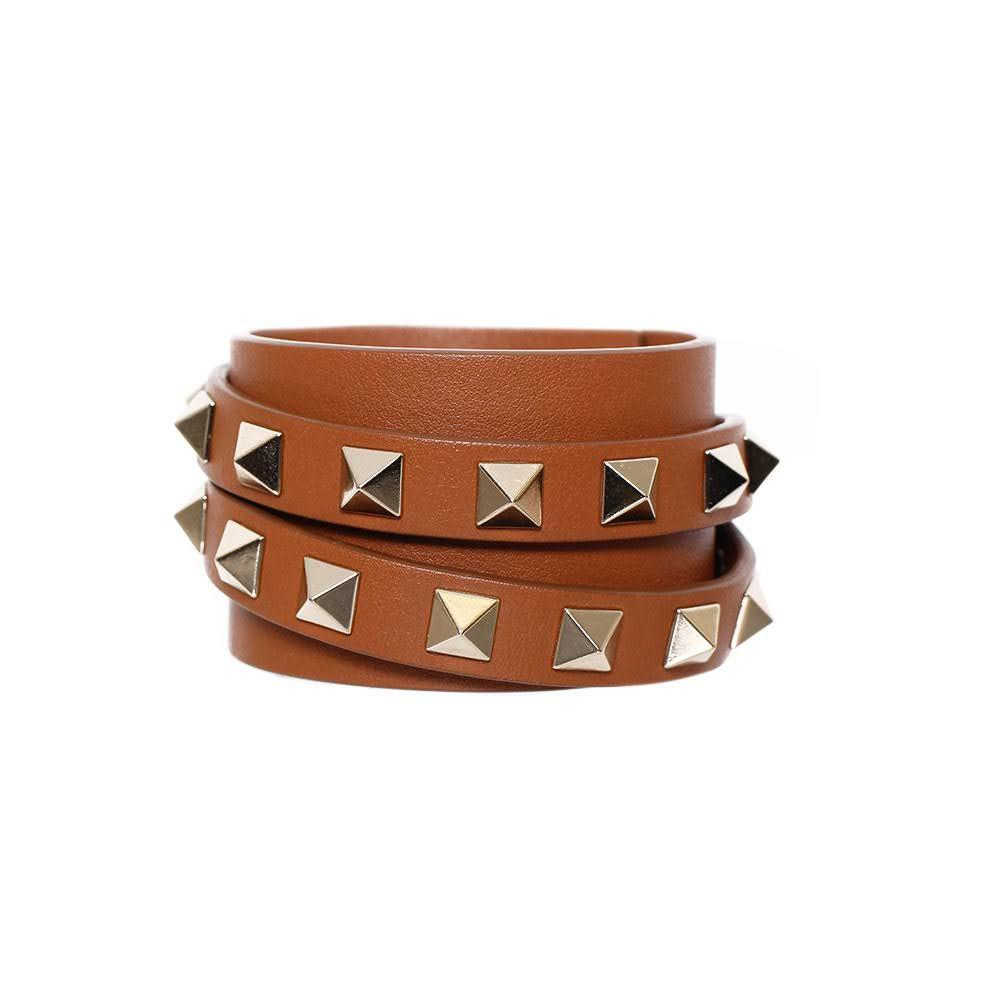 Valentino Rockstud Wrap Bracelet