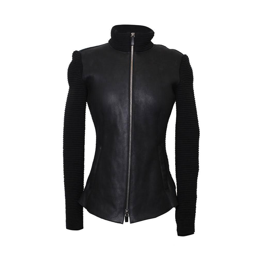 Armani Collezioni Size 4 Shearling Jacket