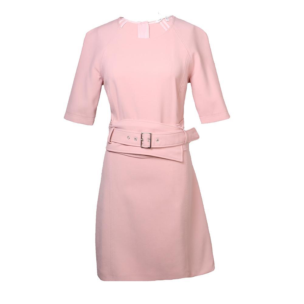 Veronica Beard Size 2 Pink Belted Dress