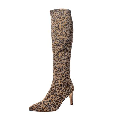 Stuart Weitzman Size 8 Cheetah Print Boots