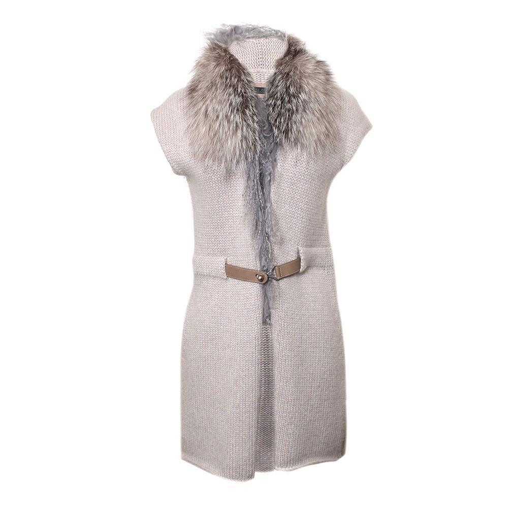 Fabiana Filippi Size Xs Fox Collar Sweater