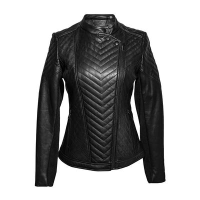 Badgley Mischka Size Small 'Hayden' Leather Moto Jacket