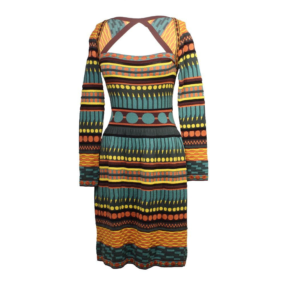 M Missoni Size 40 Pattern Dress